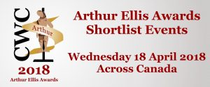 CWC Arthur Ellis Awards Shortlist Event @ Vancouver Public Library | Vancouver | British Columbia | Canada
