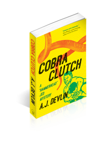 Official Book Launch for Cobra Clutch Edmonton @ Audrey's Books | Edmonton | Alberta | Canada